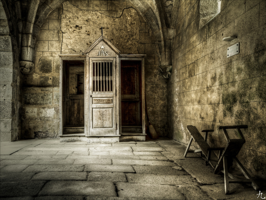Photograph The confessional by Frédéric Baque on 500px