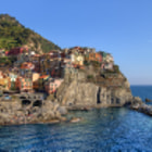 Manarola, is a town belonging to the UNESCO protected part of the Ligurian Riviera - Cinque Terre.