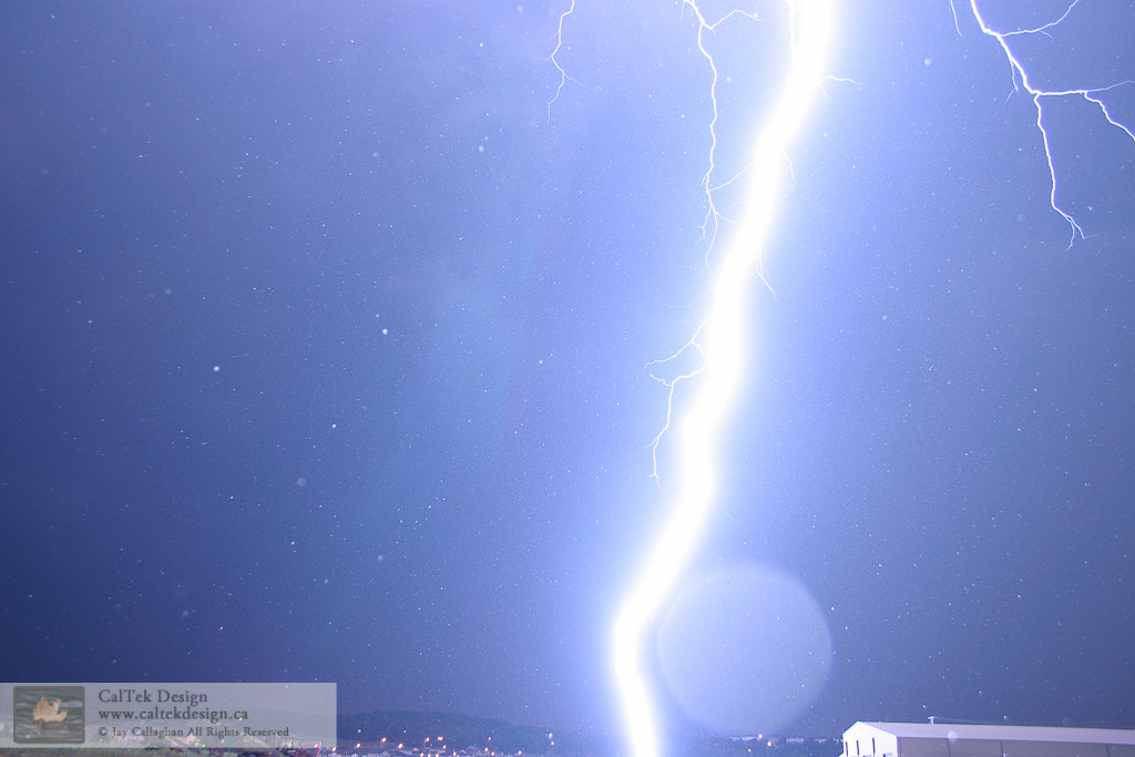 Photograph Close Contact Lightning Bolt by Jay Callaghan on 500px