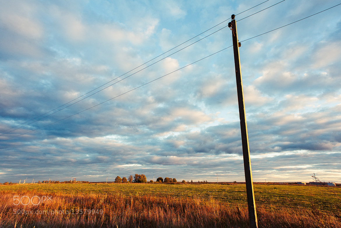 Photograph field at sunset by ivon daniel on 500px