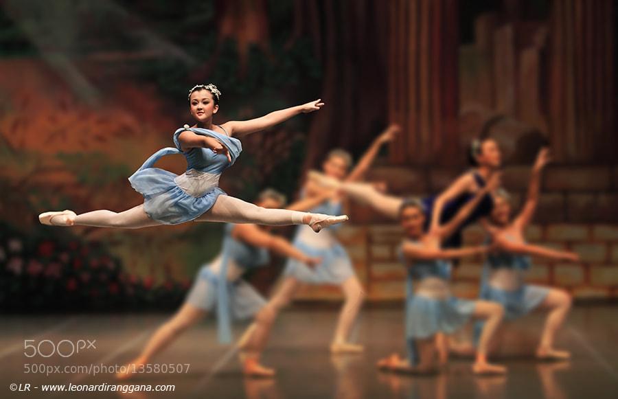 Photograph Ballerina by Leonardi Ranggana on 500px