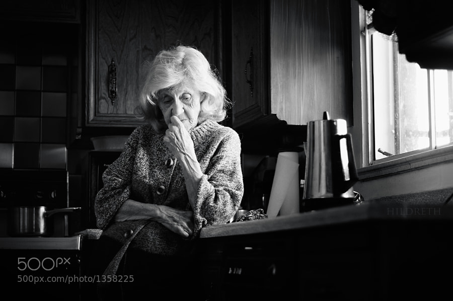 Grandmother by Charles Hildreth (hildreth) on 500px.com