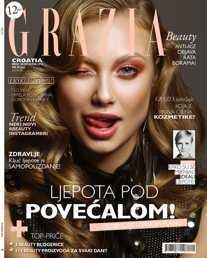 Grazia Croatia Cover - November 2015