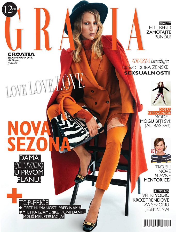 Grazia September 2015 Cover