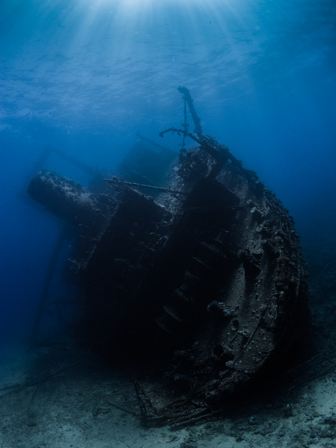 The Giannis D Wreck #3 in Red Sea