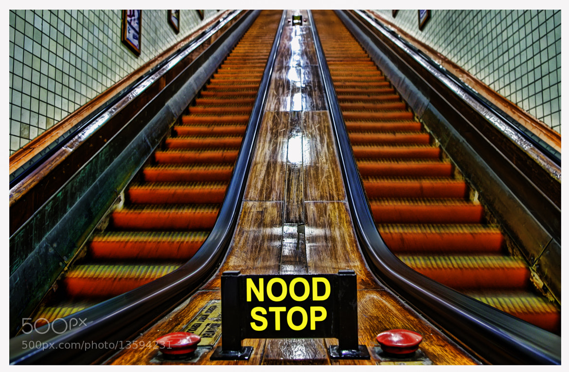 Photograph Nood Stop by Jordi Struys on 500px
