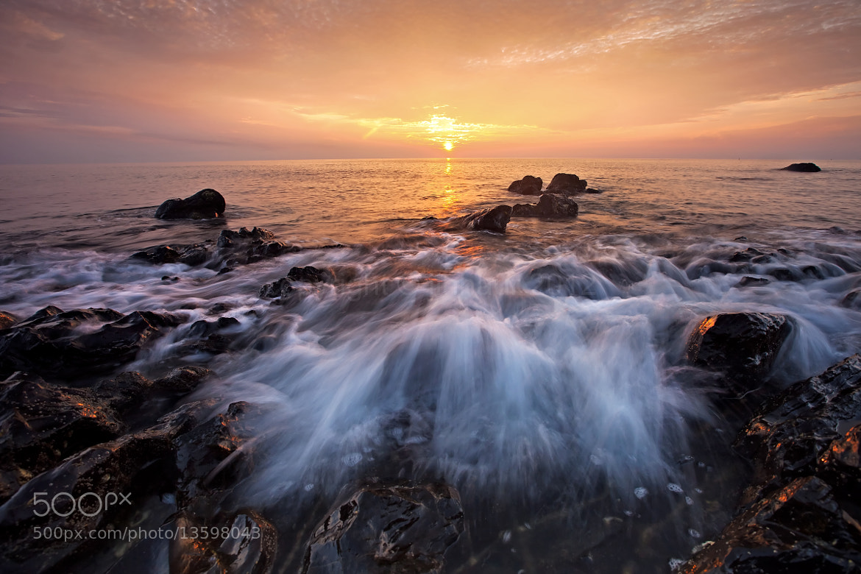 Photograph Golden sunrise by jihhaur lio on 500px