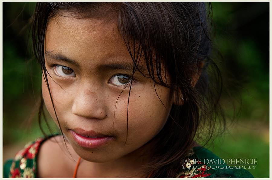 Faces of Nepal: Those Eyes