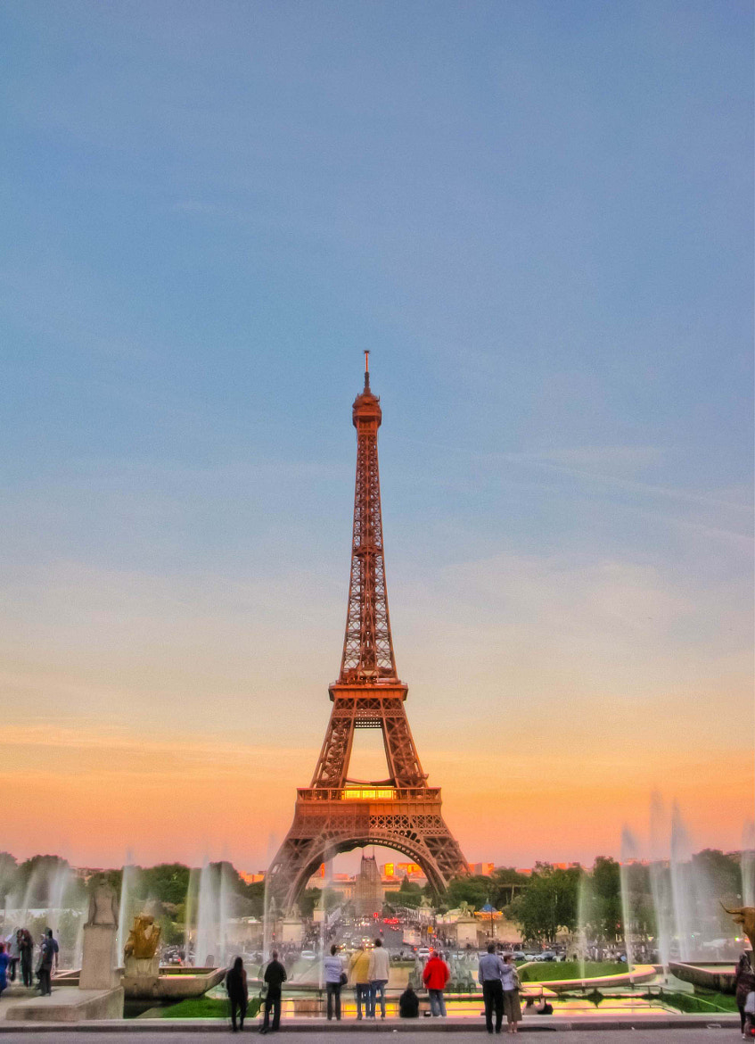 Photograph Sunset from Trocadero by Fatimah Zahra on 500px