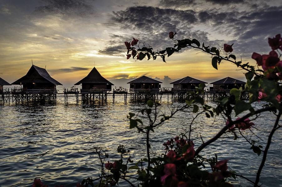 Kapalai Sunset - Sabah, Borneo