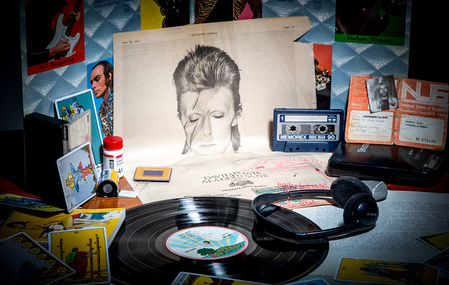 In memoriam David Bowie by Richard Keeling on 500px.com