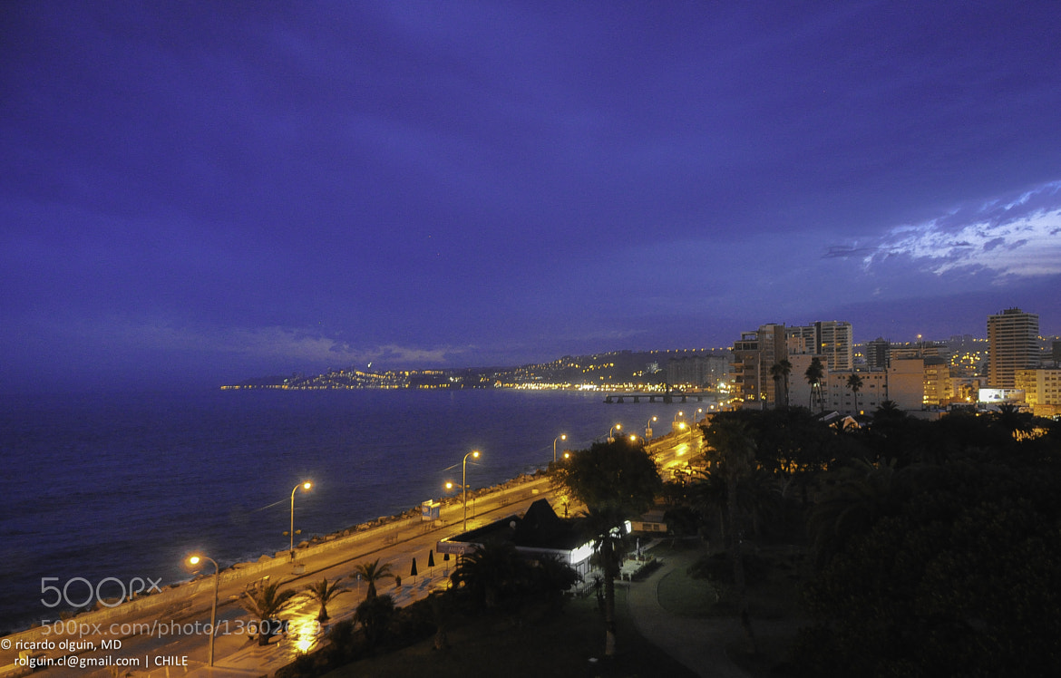 Photograph Viña del Mar before sunrise by RICARDO OLGUIN, MD on 500px