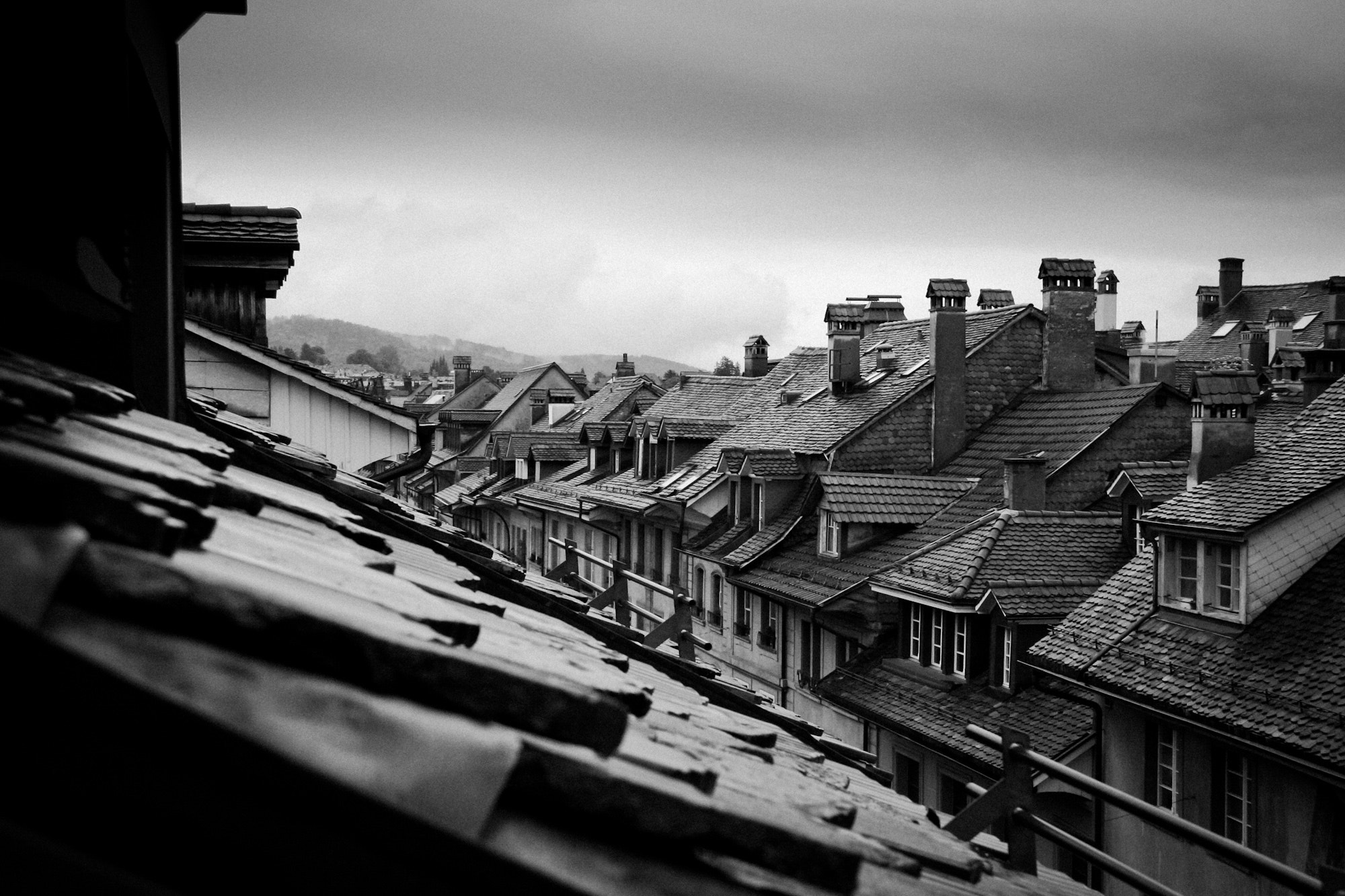 Photograph Rooftops of Berne by Mark Prince on 500px