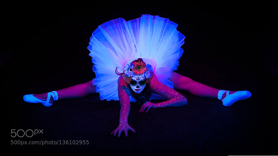 Sugar Skull Ballerina by cntower911