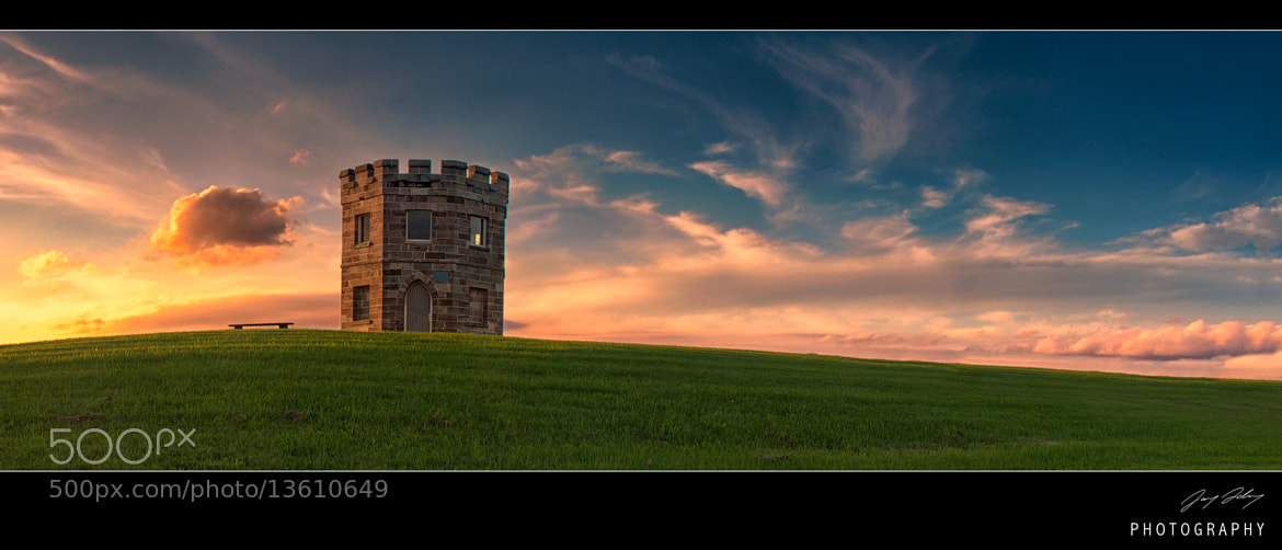 Photograph Little Barracks on the hill by Jay Daley on 500px