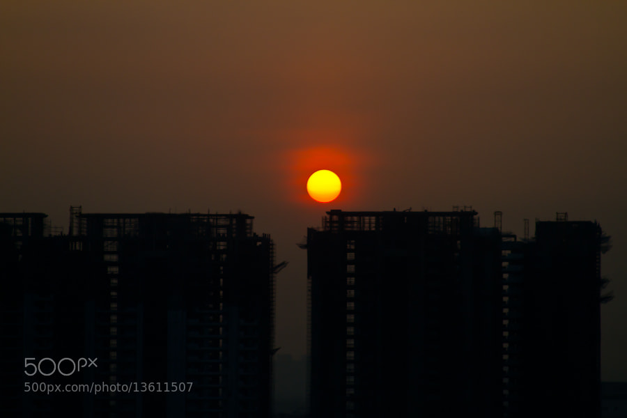Photograph Gurgaon Sunrise  by Swaminathan IM on 500px
