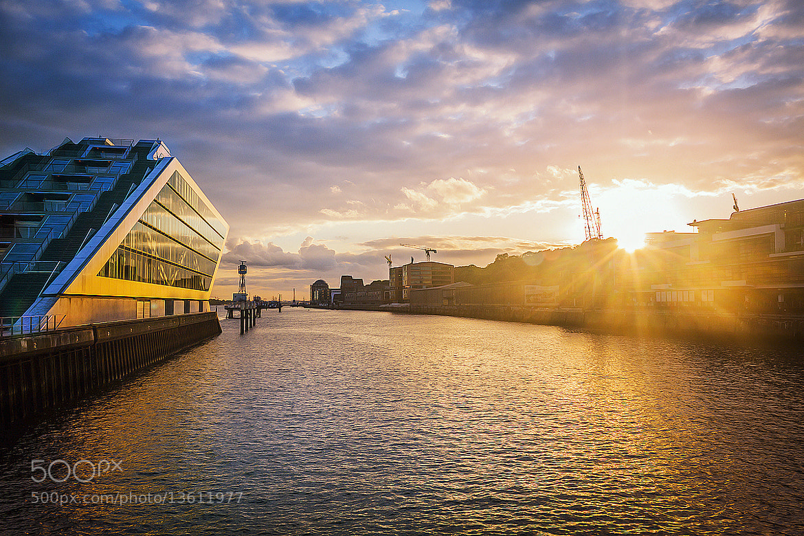 Photograph Sunset in Hamburg by Tommaso Maiocchi on 500px
