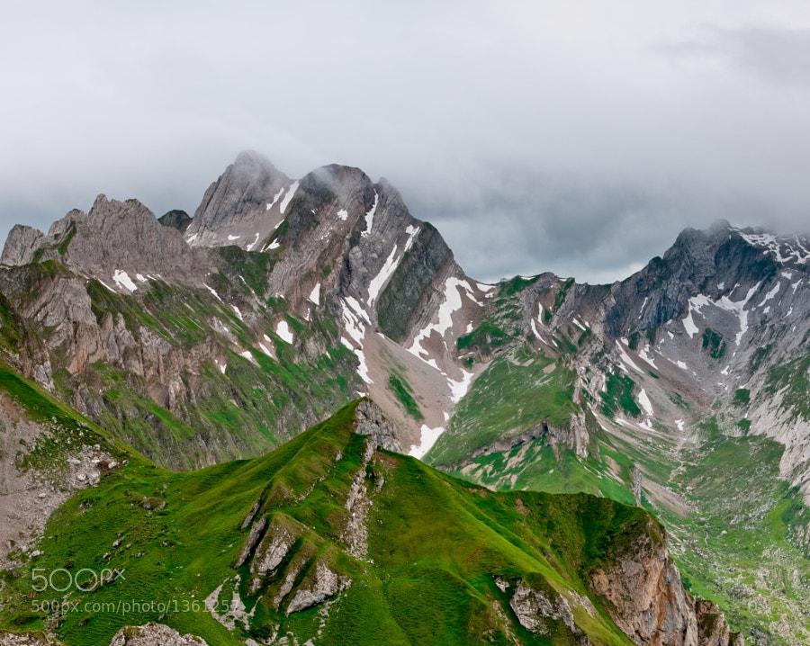 Bötzelchopf, Altmann, Rotsteinpass