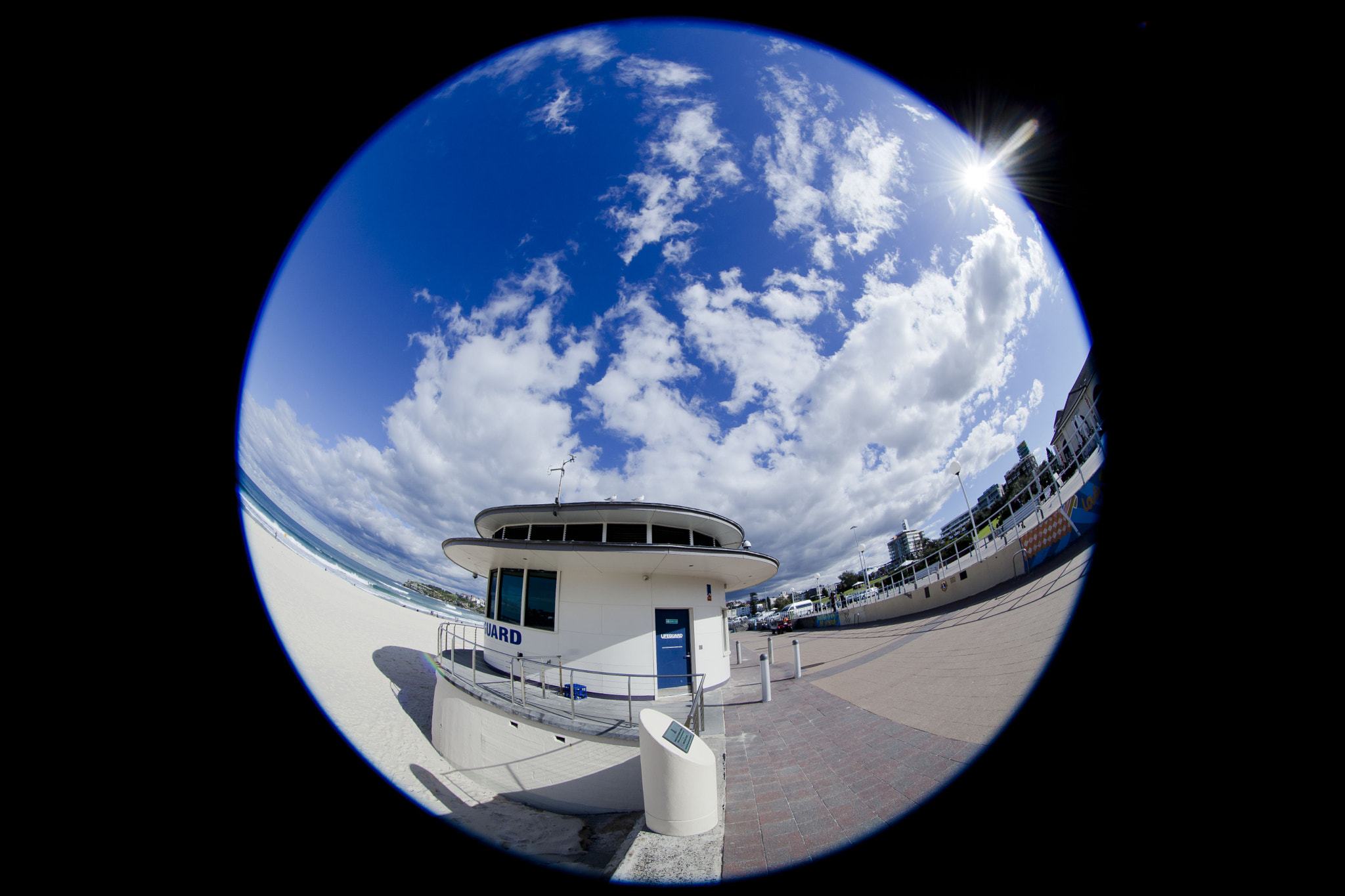 Photograph Bondi Lifeguard Tower by James P Guiney on 500px