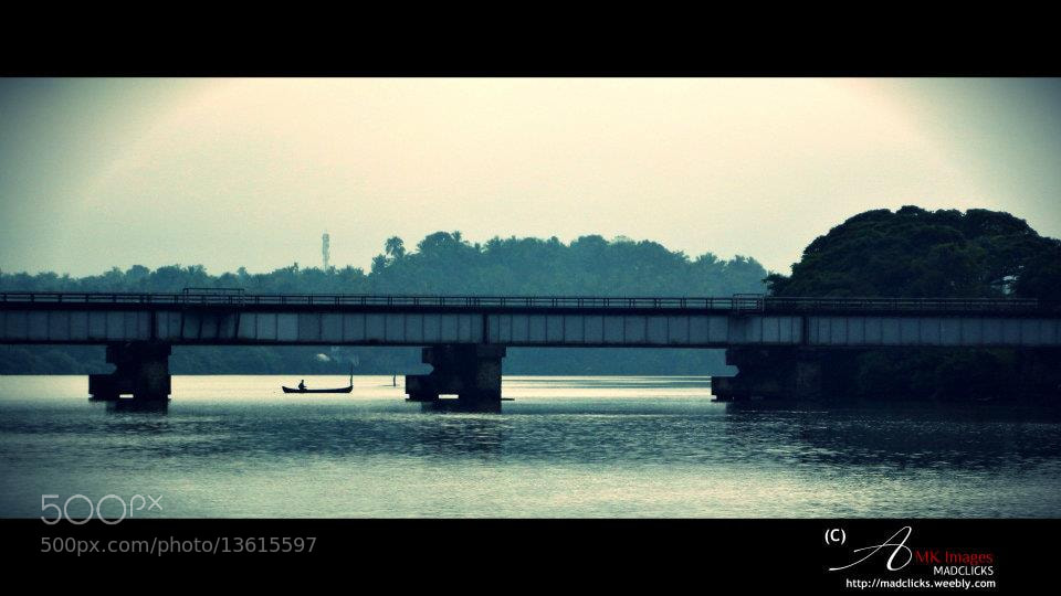 Photograph Life Across The River.. by Athul Mk on 500px