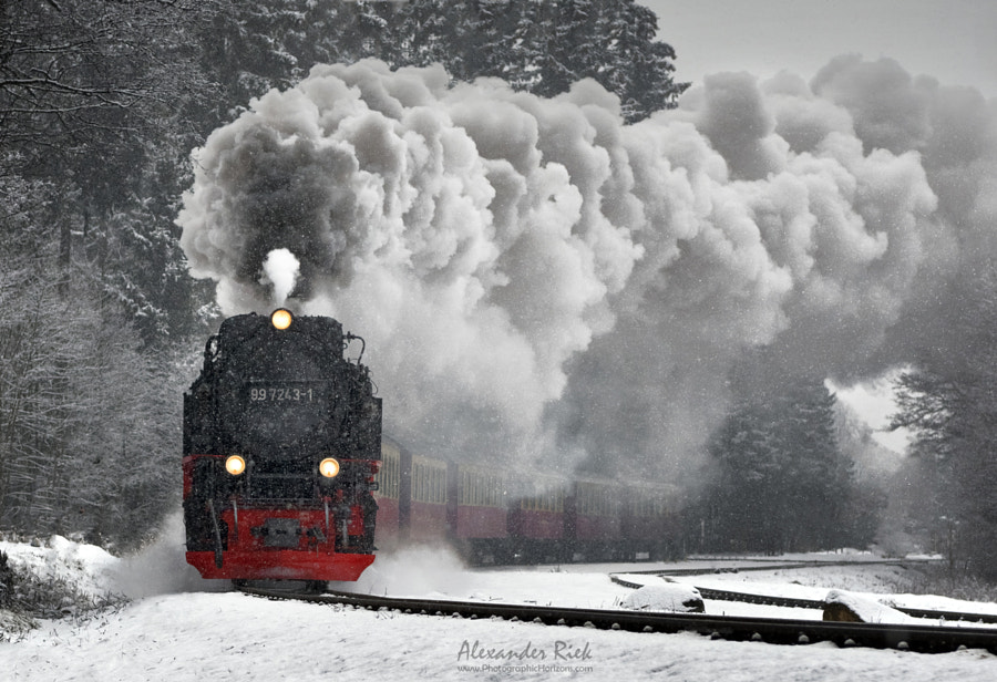 Winter Journey by Alexander Riek on 500px.com