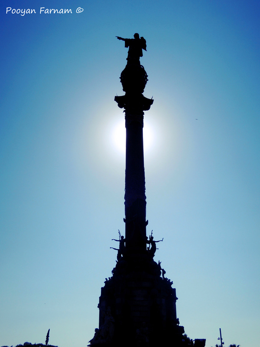 Photograph Columbus Monument, Barcelona by Pooyan Farnam on 500px