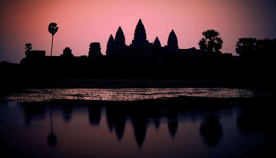 Angkor Sunrise by Dario  on 500px.com