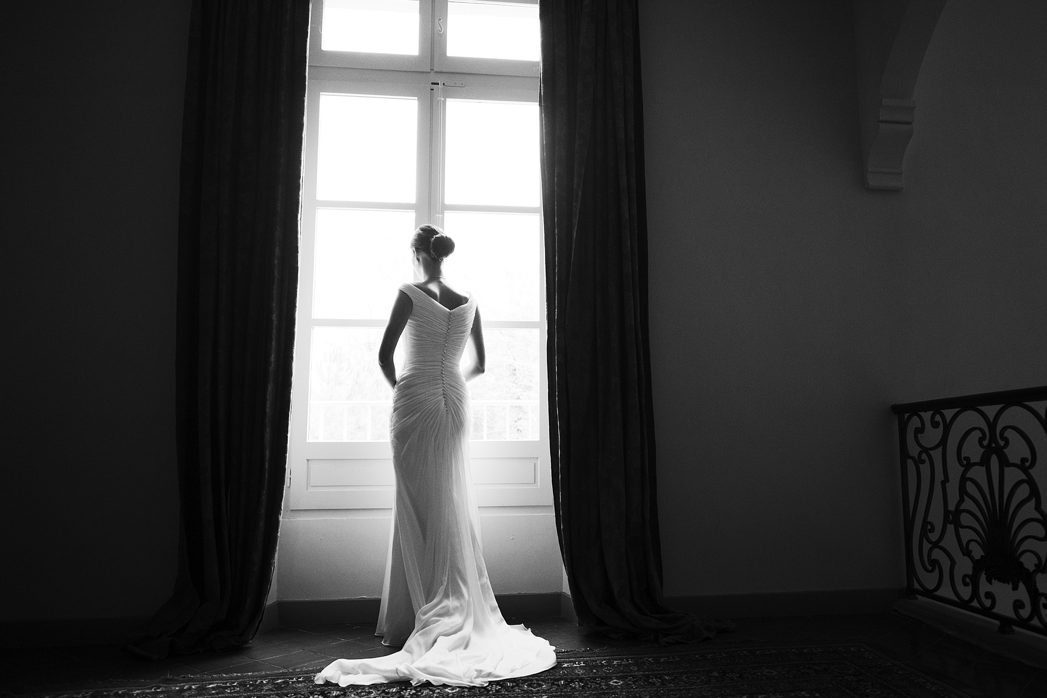 Photograph bride at the window by Cathy Dudzinski on 500px