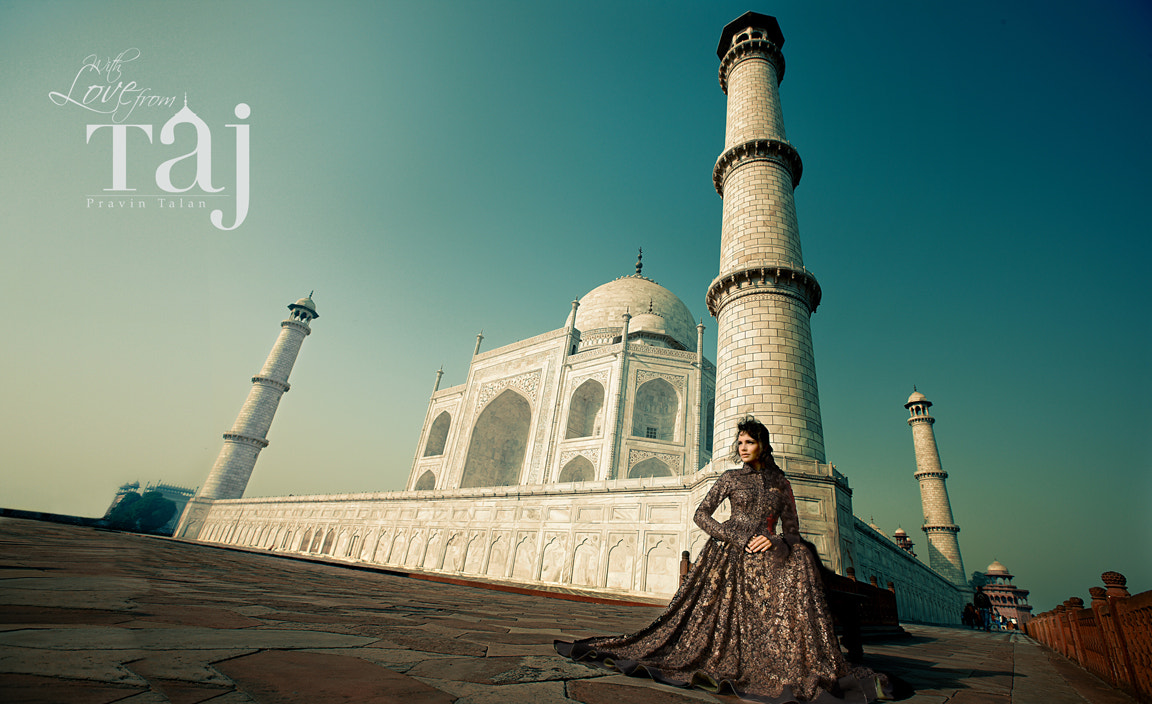 Photograph with love from Taj by pravin talan on 500px