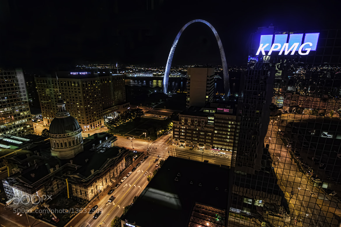 Photograph St. Louis at Night by Todd Leckie on 500px