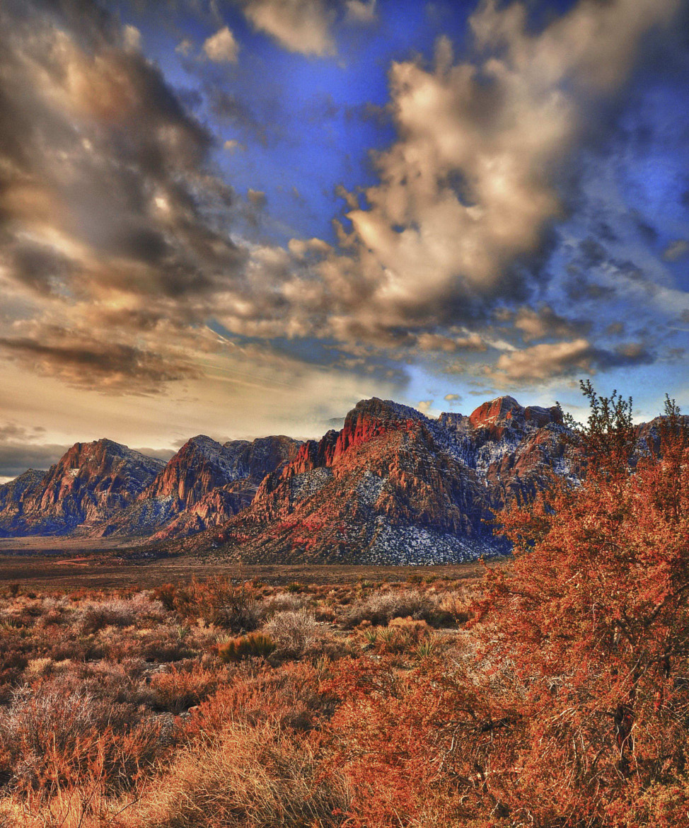 Photograph Red Rock NV by Gary Koenig on 500px
