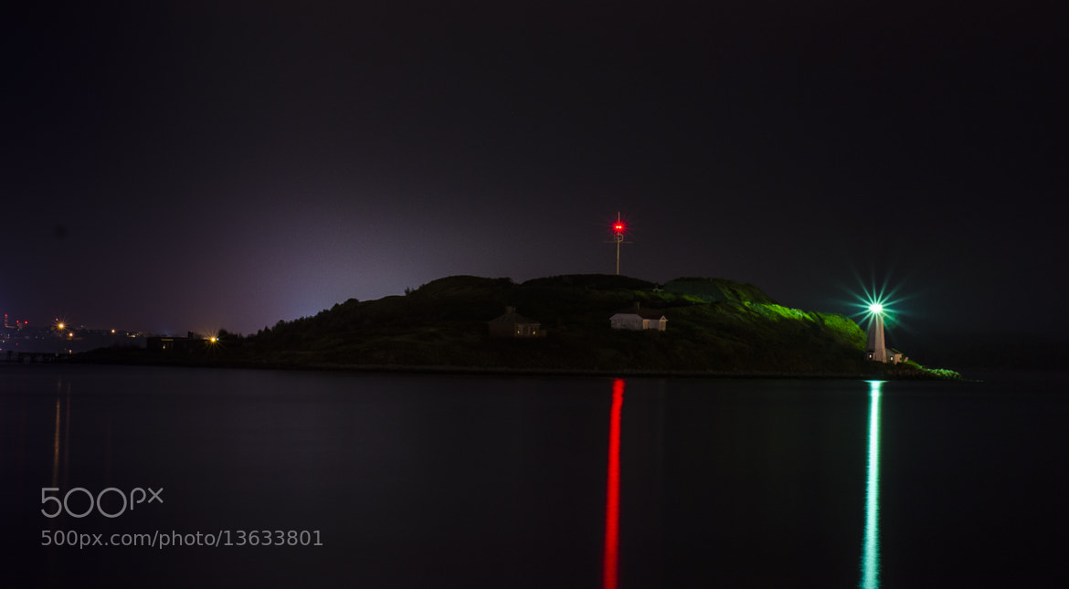 Photograph Light house at night by Leo  on 500px