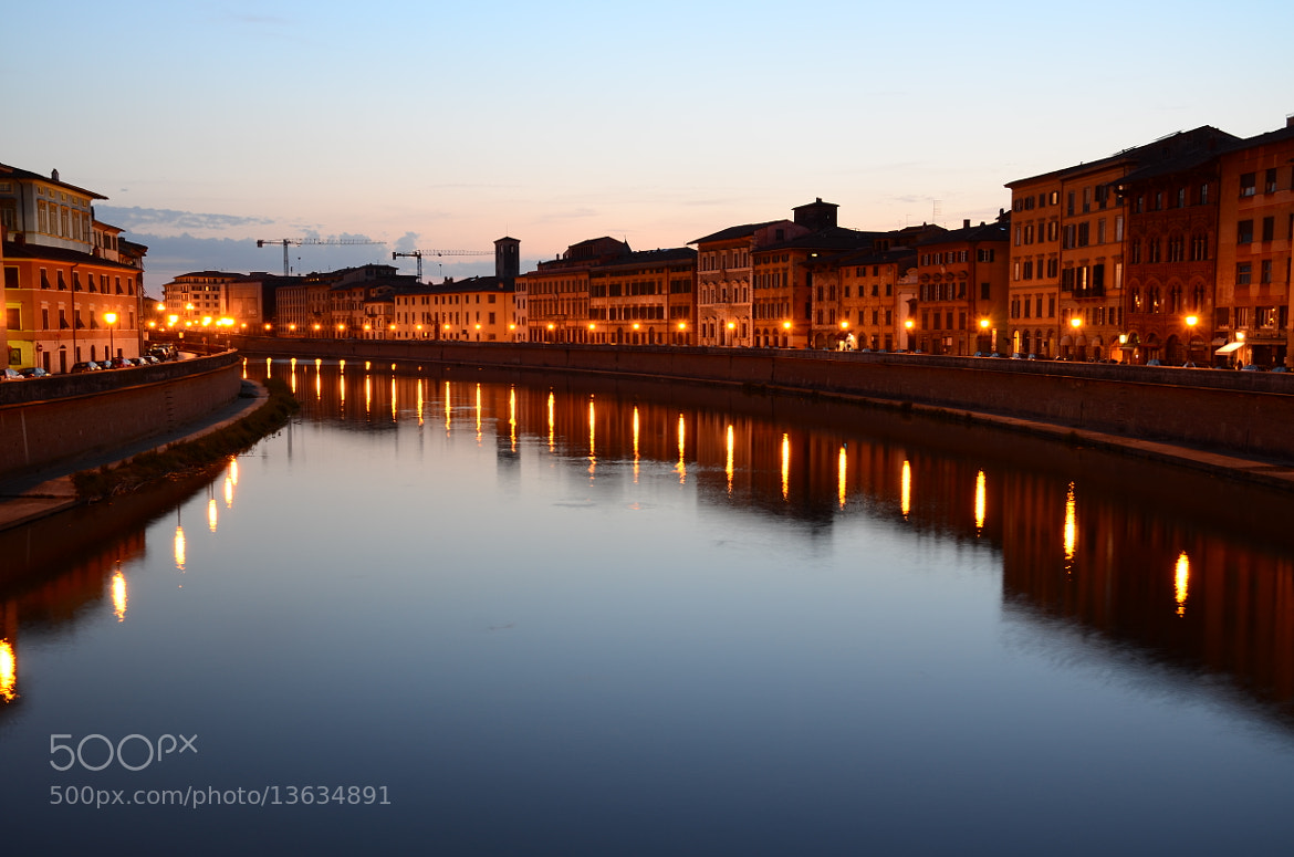 Photograph Pisa; Lungarno by Lorenzo Cupellini on 500px