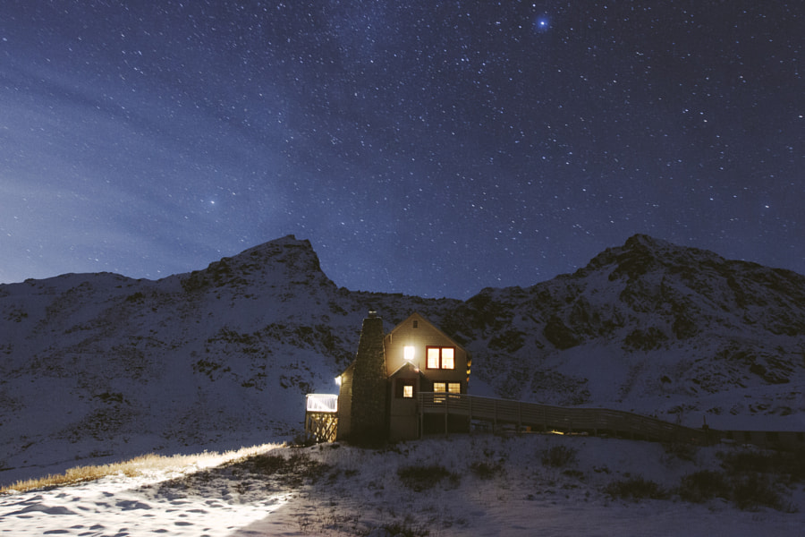 Night on Hatchers Pass by Alex Strohl on 500px.com