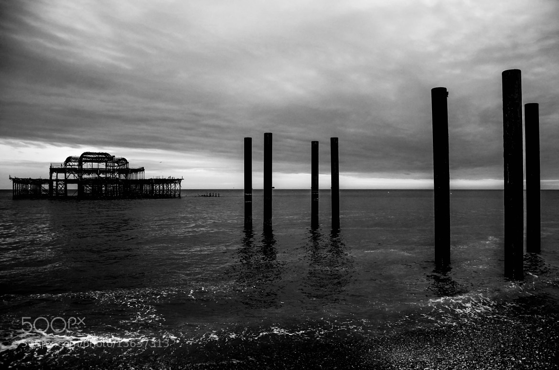 Photograph West Pier by julian john on 500px