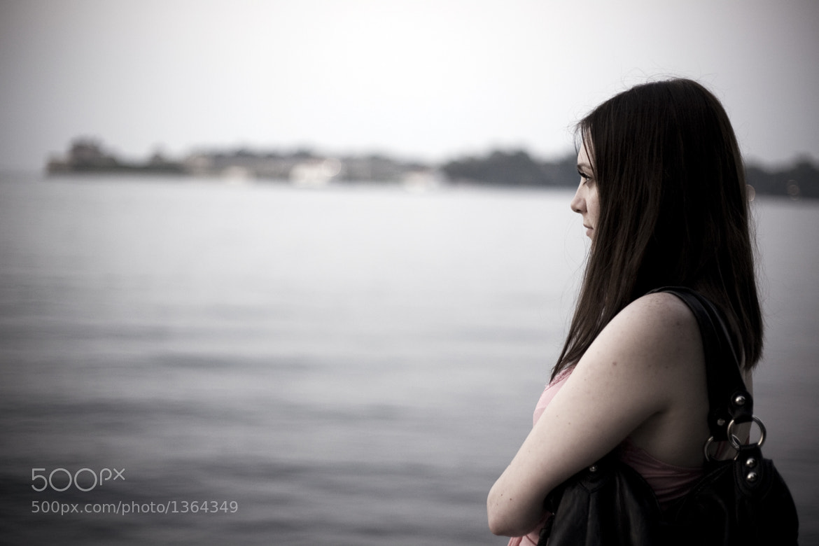 Photograph Young girl and the lake by Anna Binder on 500px