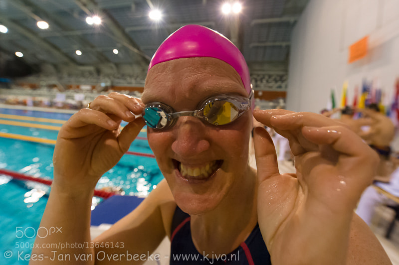 Masters swimmer happy to start at ODMC2012