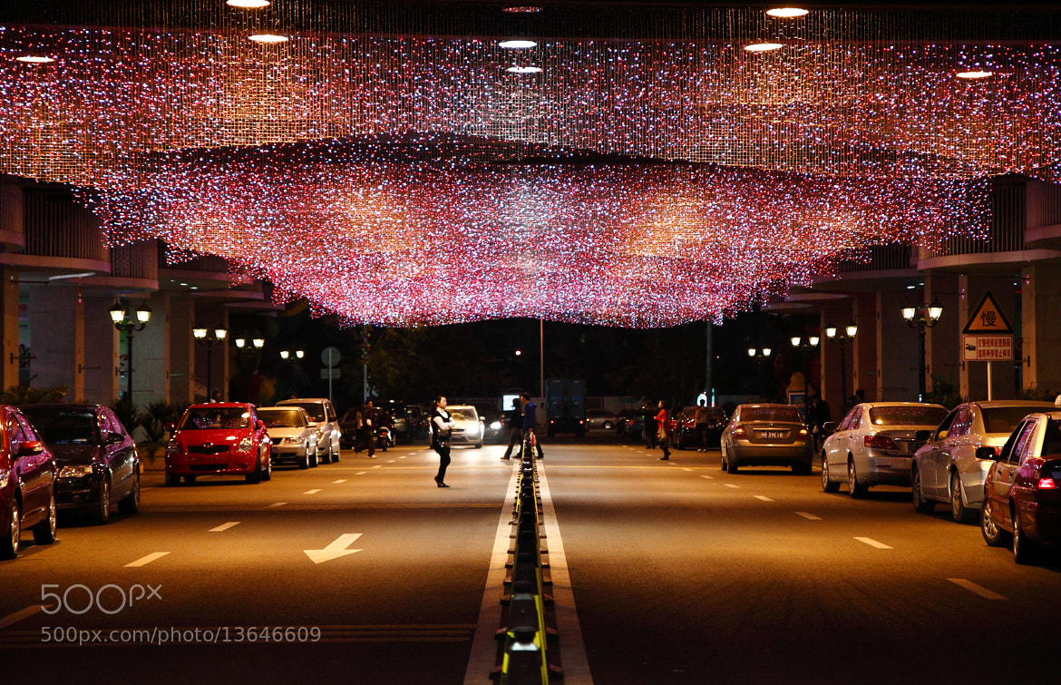 Photograph Night street by Wilson .L on 500px