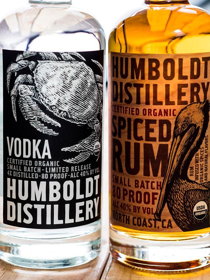 Humbolt Distillery Vodka & Rum