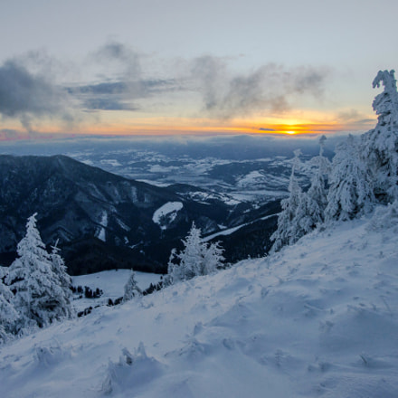 Osnica sunrise-Slovakia- Mala Fatra