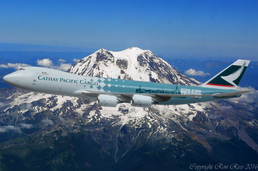 JCW Cathay Pacific 747-867F  B-LJA by Ron Rees on 500px.com