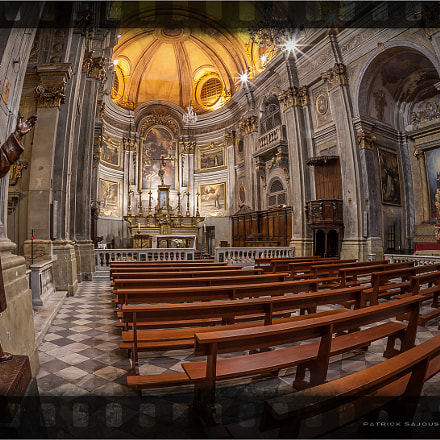 Eglise des dominicains Nice, Canon EOS-1DS MARK III