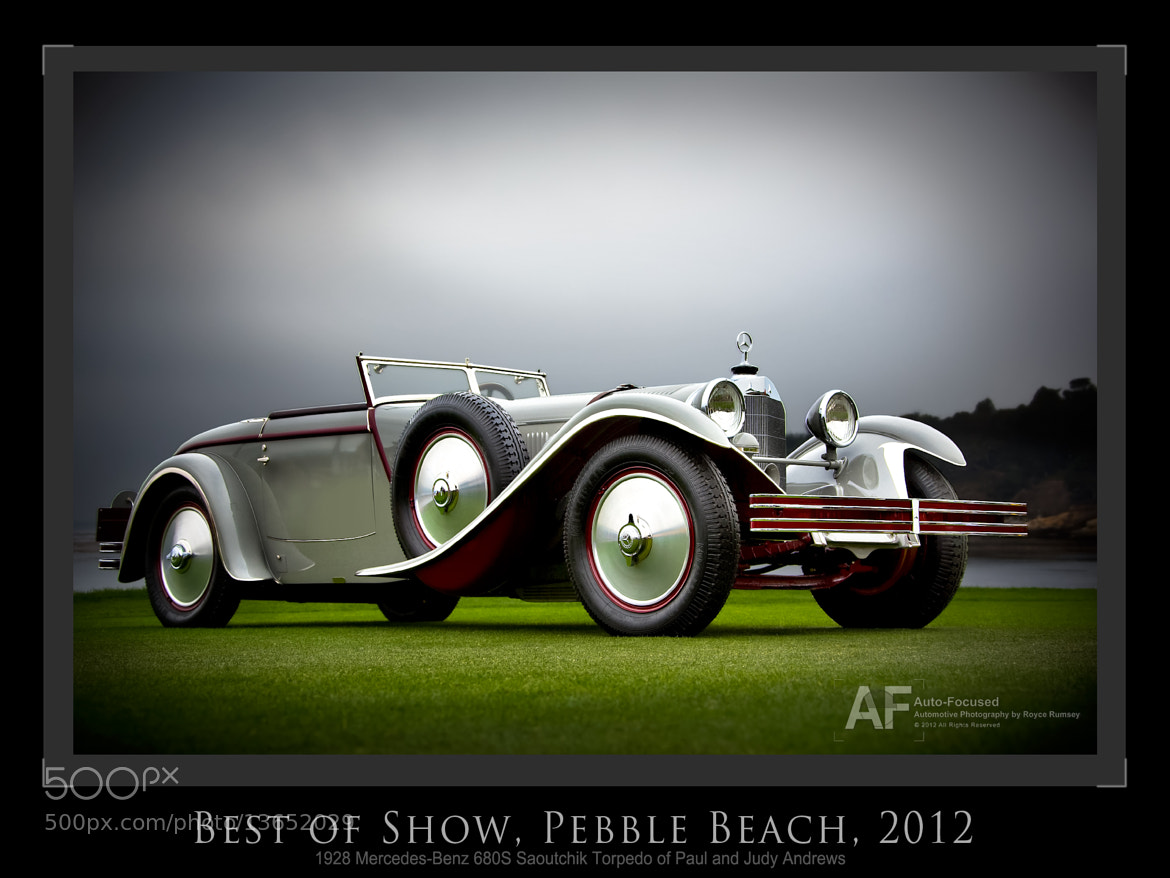 Photograph Best of Show, Pebble Beach 2012 by Royce Rumsey on 500px