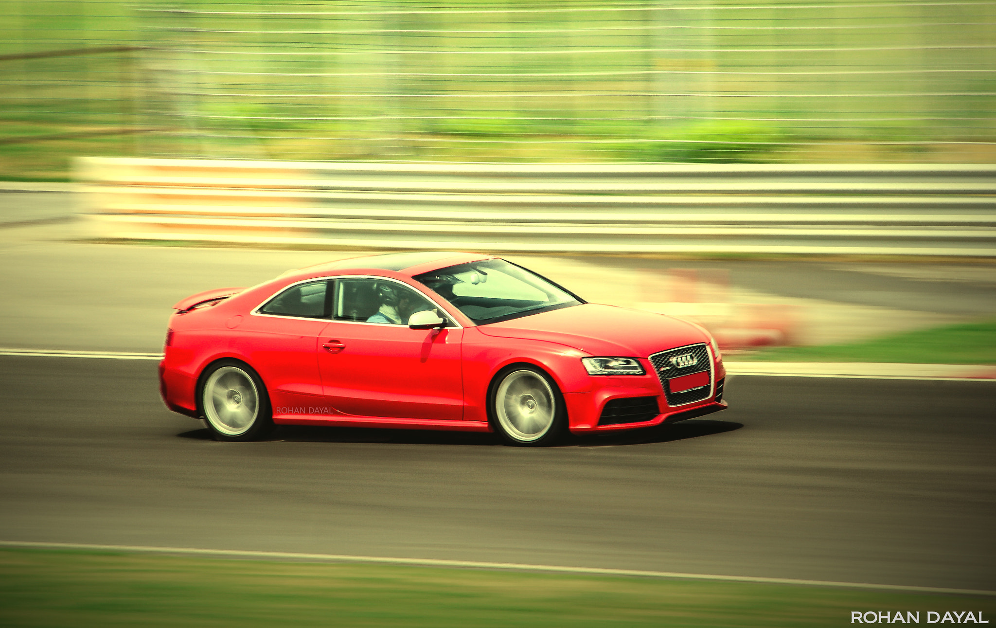 Photograph Audi RS5 ripping at the BIC ! by Rohan Dayal on 500px