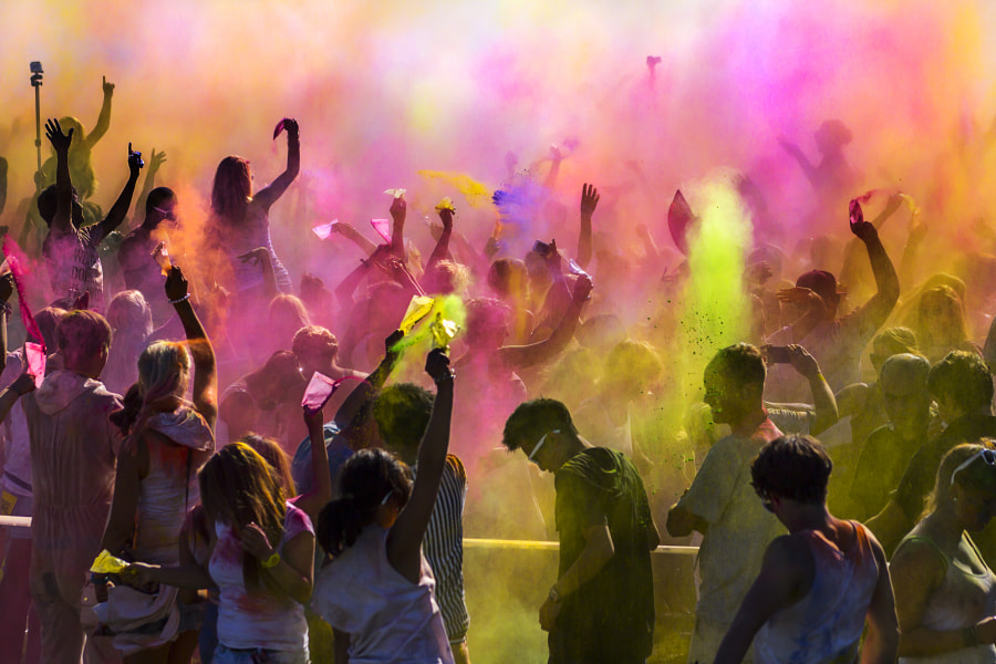 Festival of Colors II by Geo Messmer on 500px.com