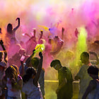 Постер, плакат: Festival of Colors II