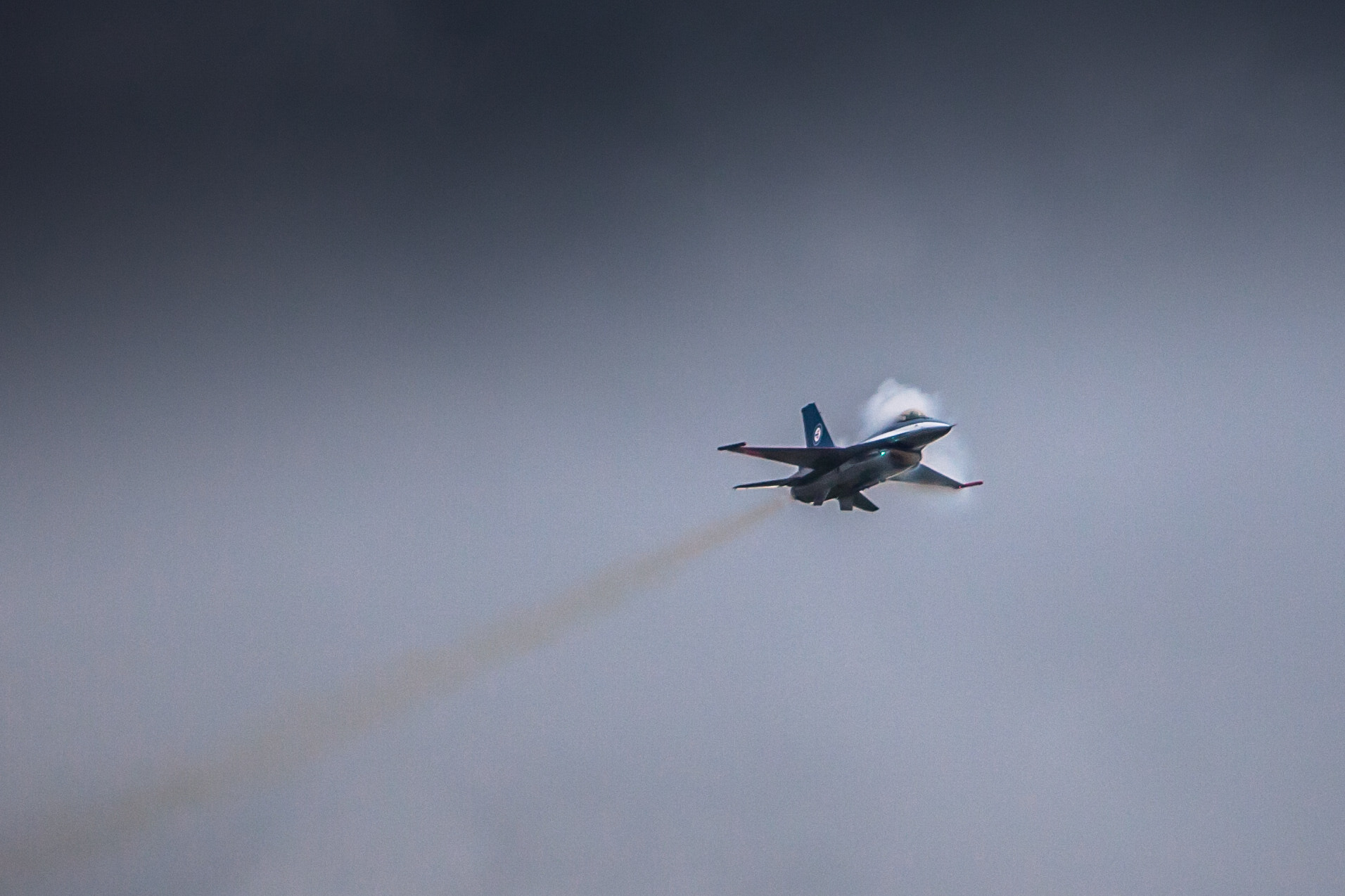 Photograph F16 - Touching the sound barrier by Henry Leirvoll on 500px