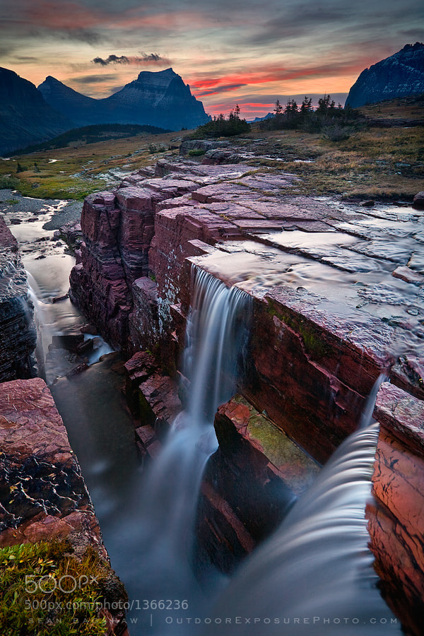 Photograph Double Falls by Sean Bagshaw on 500px