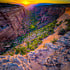 Sunrise Down Red Canyon
