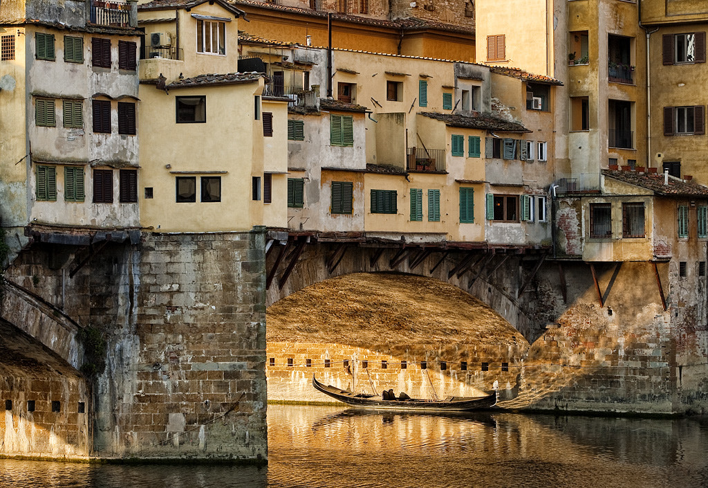 Photograph Under the Ponte Vecchio by John Barclay on 500px